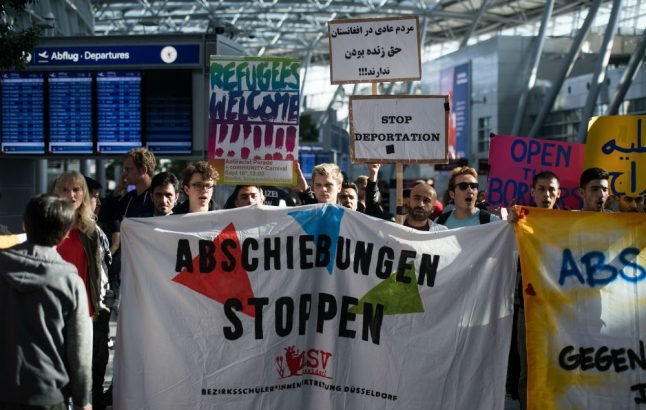 14 Afghans expelled from Germany amid angry protests over safety