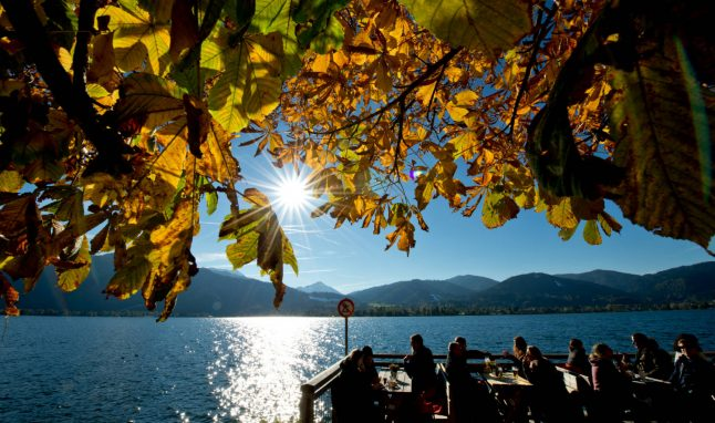 Meteorologists predict a 'golden October' is on its way
