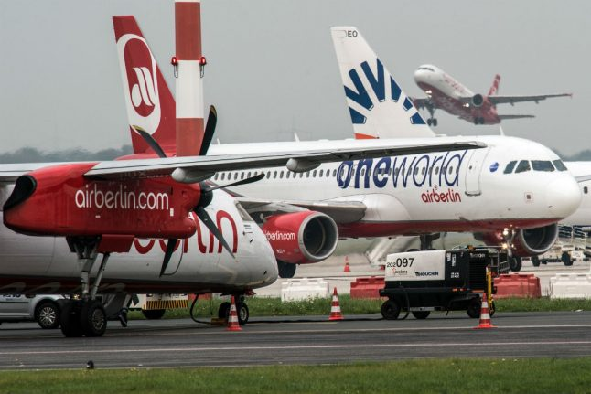 Berlin airports to expect fewer passengers after Air Berlin ends operations