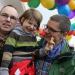 Berlin couple make history by becoming first husband and husband to adopt child in Germany