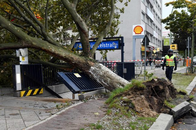 Berlin fire services call state of emergency, as hurricane-force winds hit capital