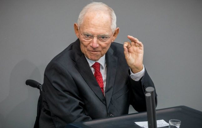 'Bad cop' Schäuble takes eurozone farewell bow