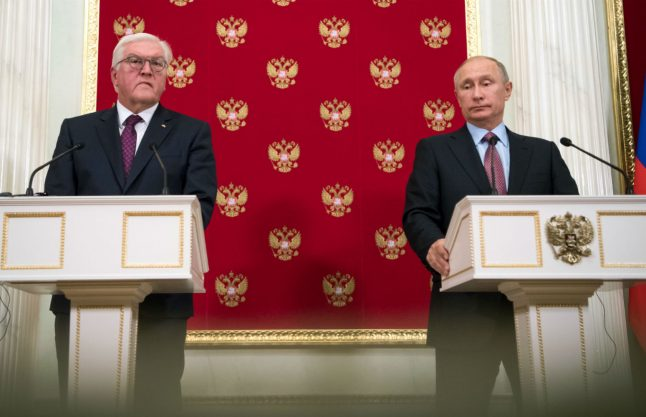 President Steinmeier laments 'open wounds' in Russia ties during Moscow visit