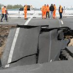 Section of Baltic Sea autobahn to fully close after hole in road threatens to get bigger