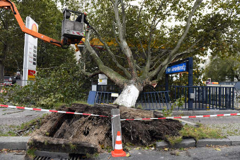 German rail services returning to normal after deadly storm