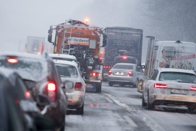 Winter is here! Polar air brings storms, sleet and snow