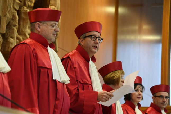Federal government has violated Bundestag's rights, Constitutional Court rules