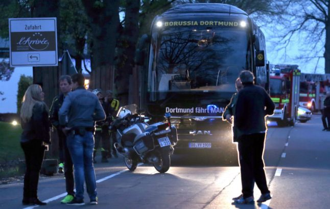 Suspect accused of bomb attack on Dortmund football team bus faces trial in December