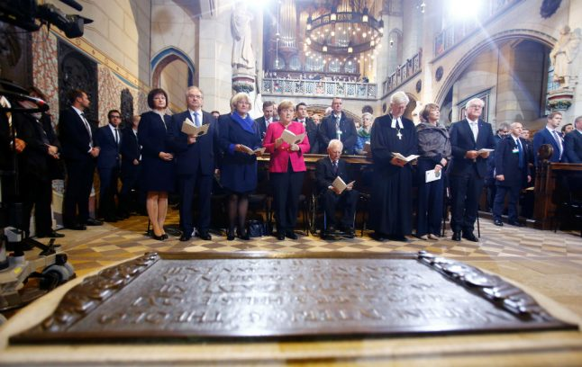 Protestants, Catholics mark 500 years since Reformation in Wittenberg service