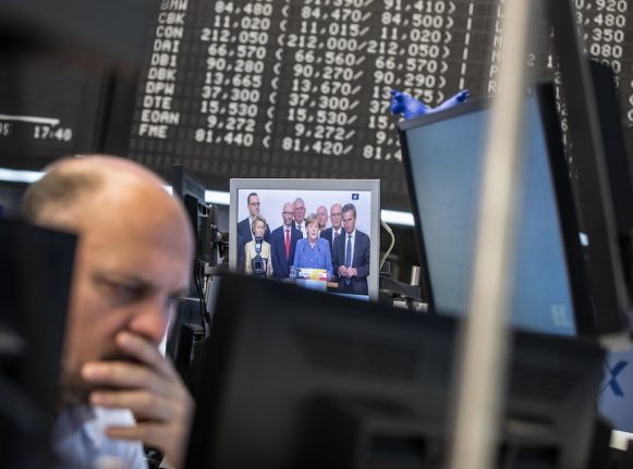 Germany's political uncertainty rattles markets