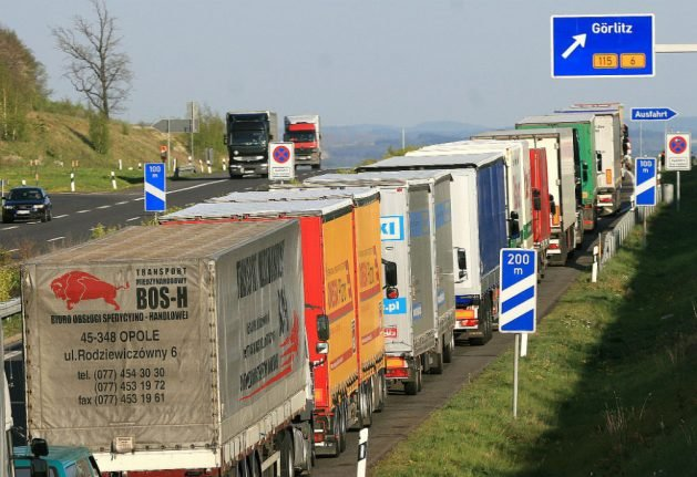 How trucks from eastern Europe are coming to dominate German roads