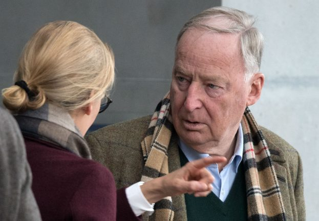 AfD meet for party congress trying to capitalize on Merkel's woes