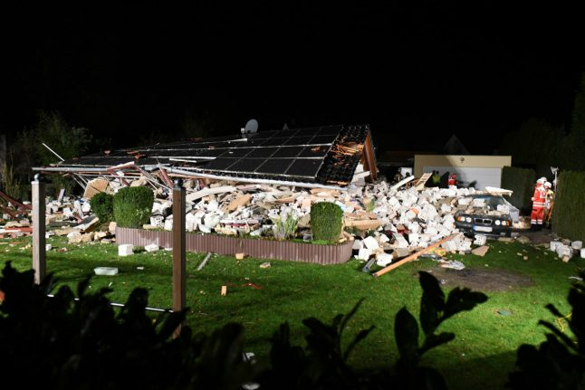 Several injured after family home collapses in west of Berlin