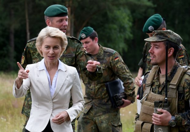 Poland angered after German defence minister calls for support for 'youth resistance'