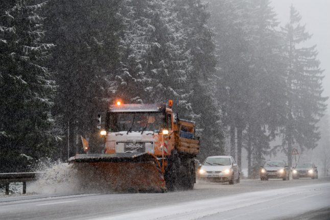 Snow, sleet and frost are on the way for much of Germany