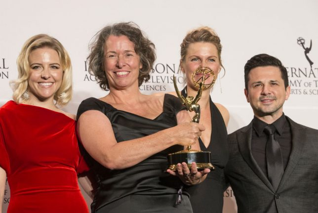 'You have to fight against neo-Nazism': German TV series wins Emmy