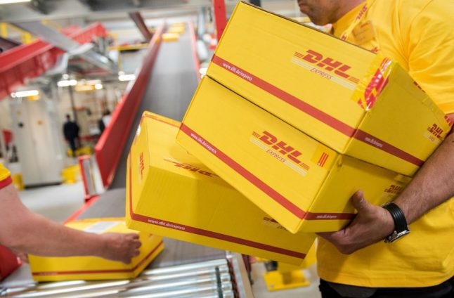 Police advise caution with parcels after million-euro extortion attempt against DHL