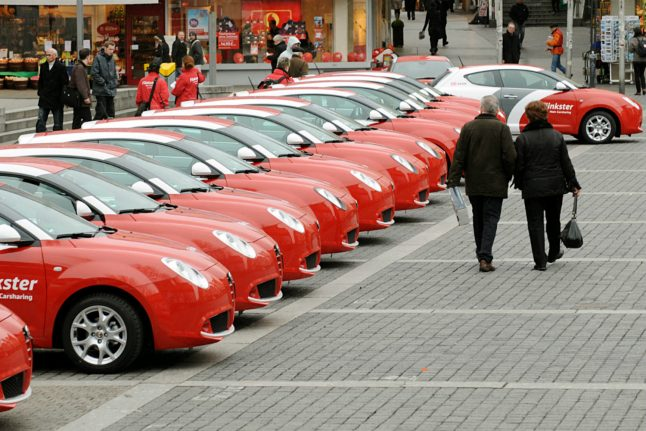Karlsruhe streets ahead of rest of Germany for car-sharing