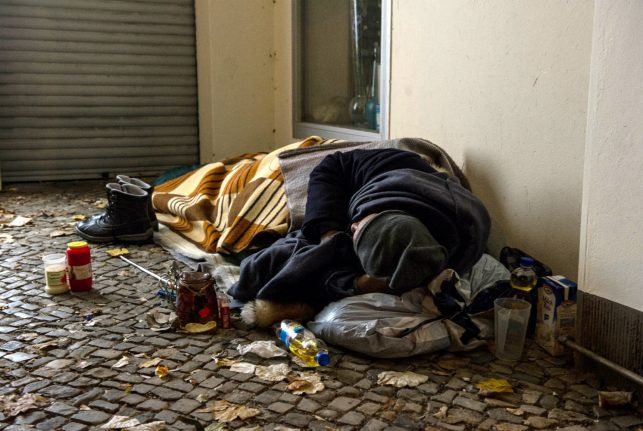 'Bureaucracy makes you feel like a lowly beggar': surviving on the streets of Berlin