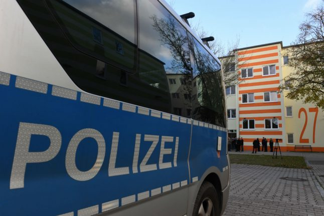Police trainees investigated over rioting and 'Heil Hitler' call in Berlin