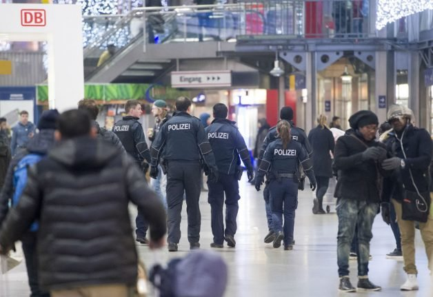 Mass brawl at Munich central station as rival football fans clash