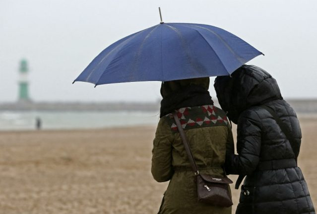 Heavy rain and strong winds on the way for much of Germany