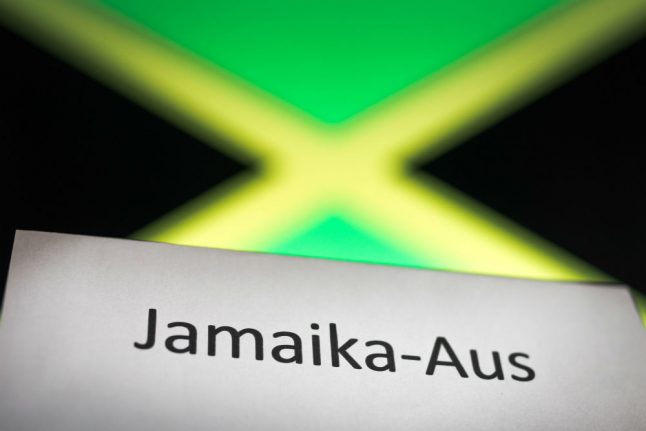 'Jamaika-Aus' voted German Word of the Year for 2017