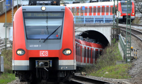 Bad weather brings parts of Munich rail system to standstill