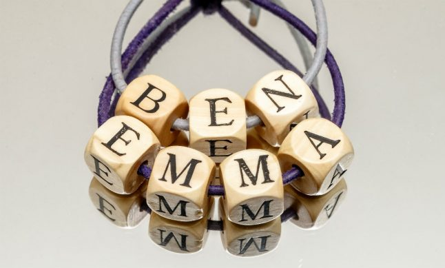 'Ben' and 'Emma' most popular baby names in 2017