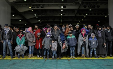 Migrant arrivals in Germany fall for second year in a row