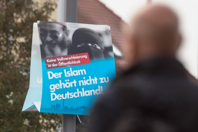 Leading member of far-right AfD in Brandenburg converts to Islam