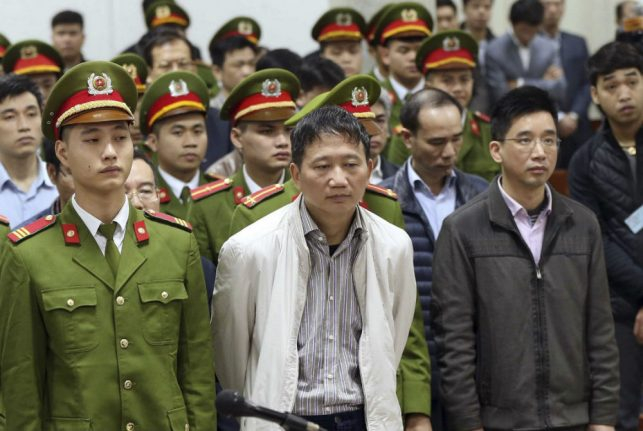 Vietnamese oil exec 'kidnapped' in Berlin jailed for life in graft trial