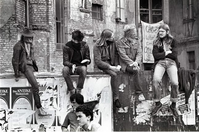 In cold and claustrophobic 1980's West Berlin, you paid a high price for freedom
