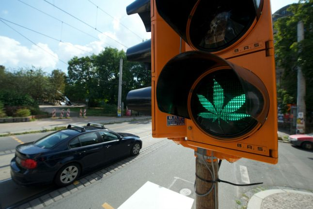 How some people are allowed to be stoned at the wheel in Germany