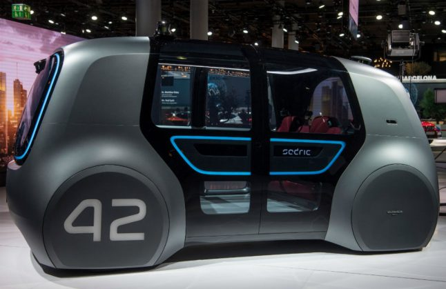 VW and Silicon Valley firm aim to build driverless cars by 2021