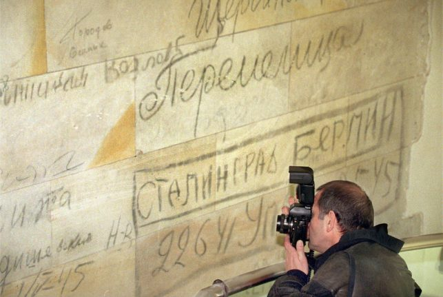 'Preserving voices': Berlin woman revives Red Army ghosts in Reichstag graffiti
