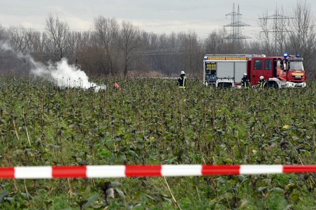 Four killed as helicopter and plane collide in southern Germany