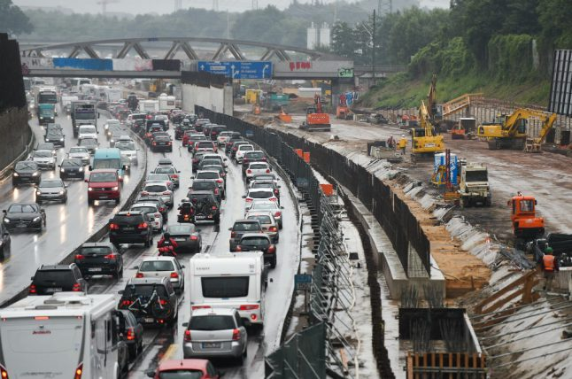 Hamburg named German state with most congested motorways