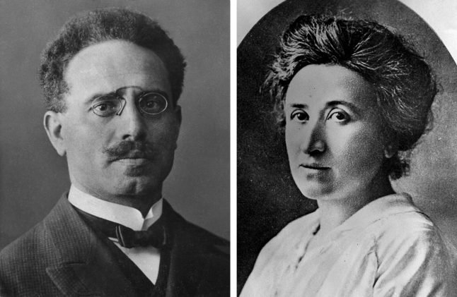 99 years since Rosa Luxemburg was murdered and dumped in a Berlin canal