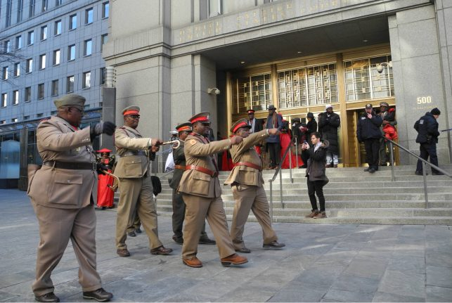Germany asks US court to drop Namibian genocide suit