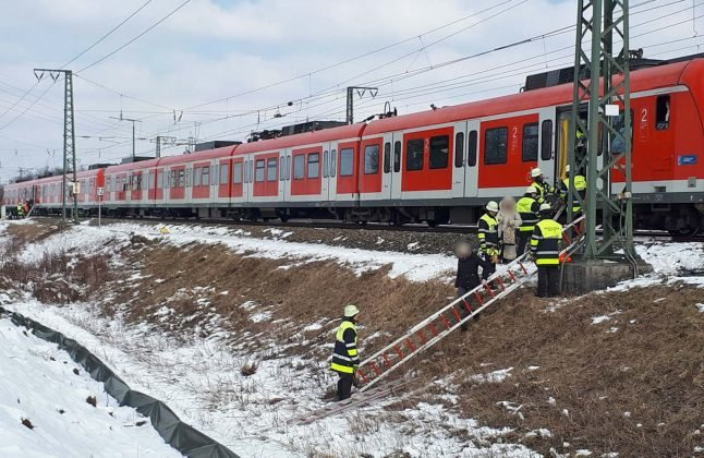 Extreme cold wreaks havoc on suburban trains in Munich and Berlin