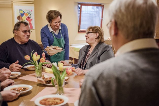 Food bank in Essen bars new migrant clients 'to ensure reasonable integration'