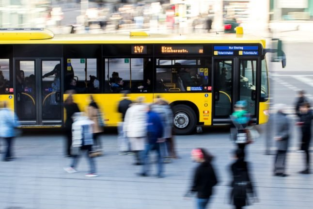 Germany considers free public transport in fight to banish air pollution