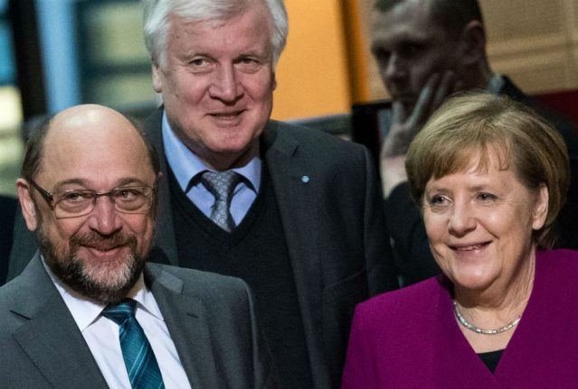 Parties in final push to seal coalition deal under new Merkel government