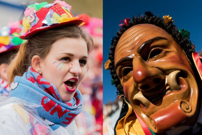 Inflated pigs' bladders vs. jesters: the difference between Fastnacht and Karneval