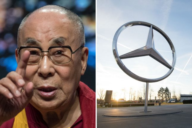 Mercedes issues grovelling apology to Chinese after quoting Dalai Lama