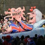 From a freak Brexit baby to dancing little rocket man: Karneval in pics
