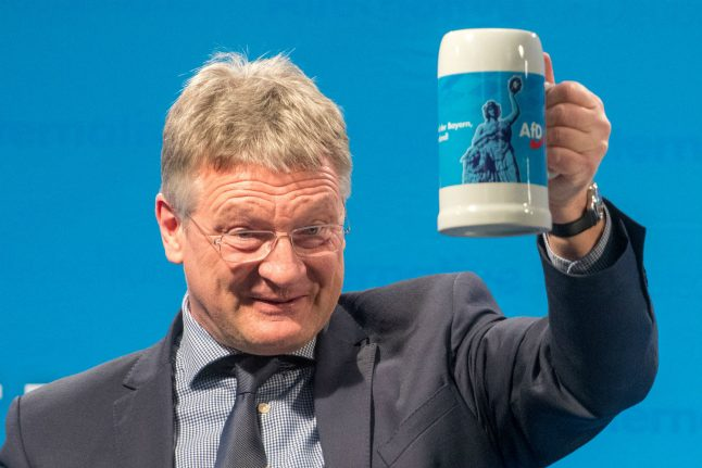 Far-right AfD now the second most popular party in Germany: poll