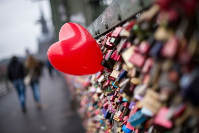 Then and now: how Valentine's Day has blossomed in Germany