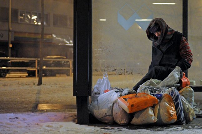 Freezing temperatures pose constant danger to Germany's homeless